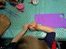 Création de marionnettes-chaussettes